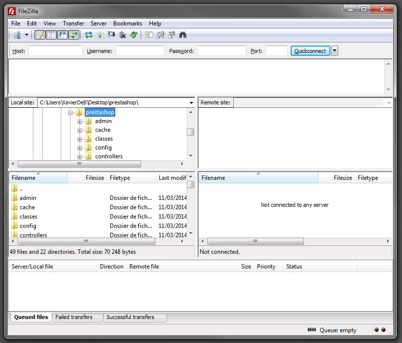 Instalación de Prestashop - PrestaShop documentation