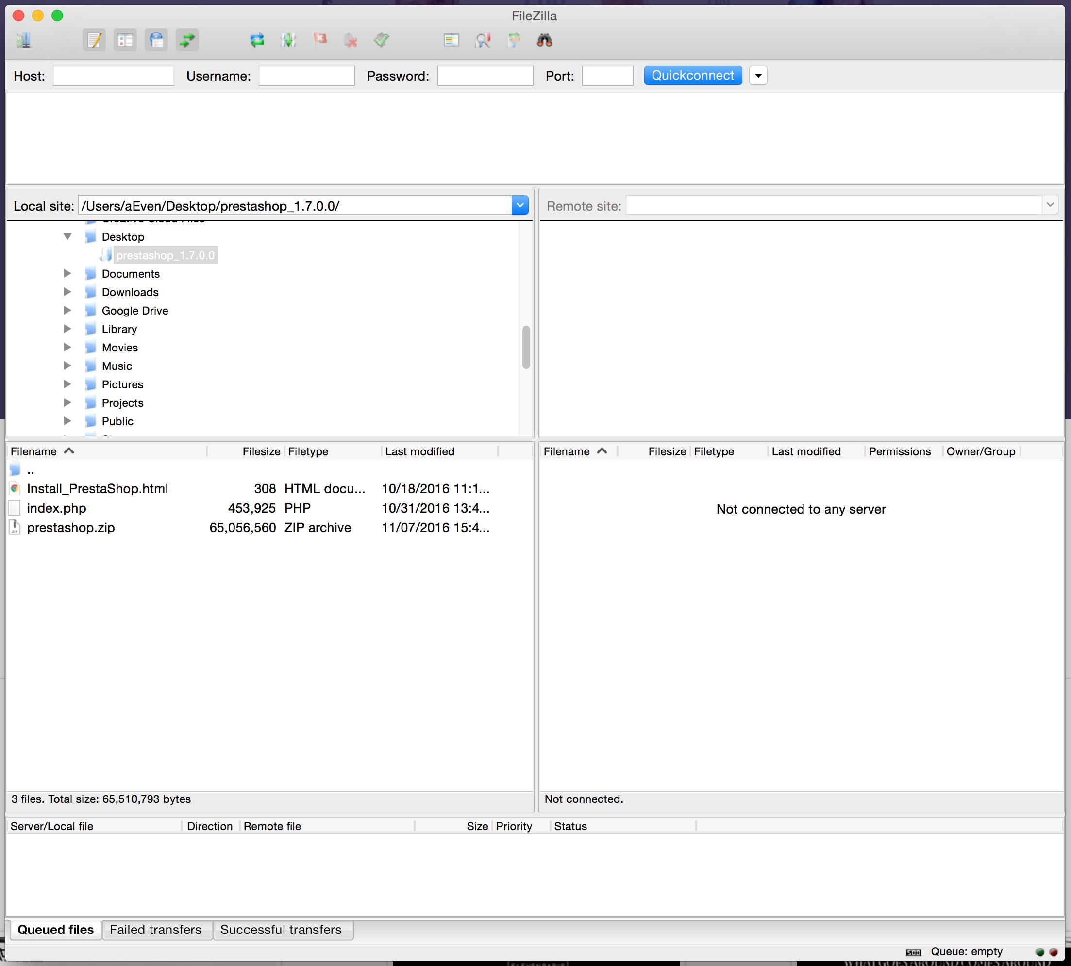 Installing PrestaShop - PrestaShop 1 7 - PrestaShop